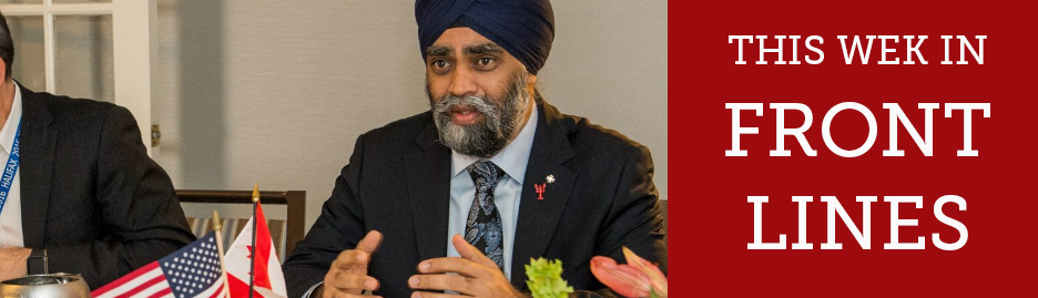 Defence minister says NATO still plays a critical role