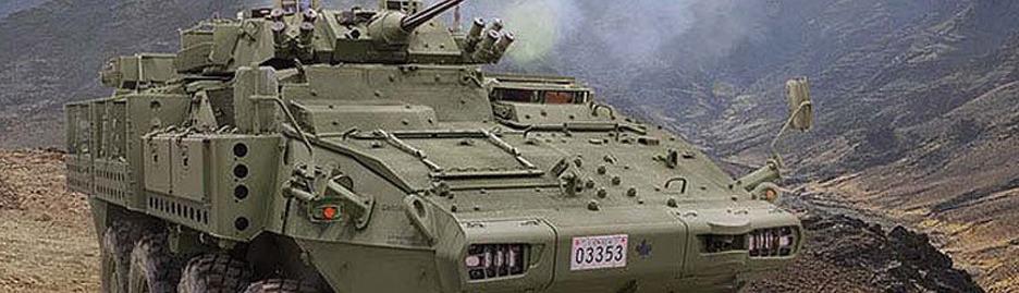 Armoured vehicles get upgrade