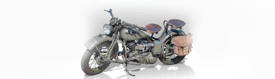 War on two wheels