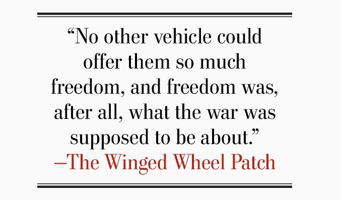 War on two wheels   Legion Magazine