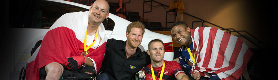 Researcher finds much to study in Invictus Games