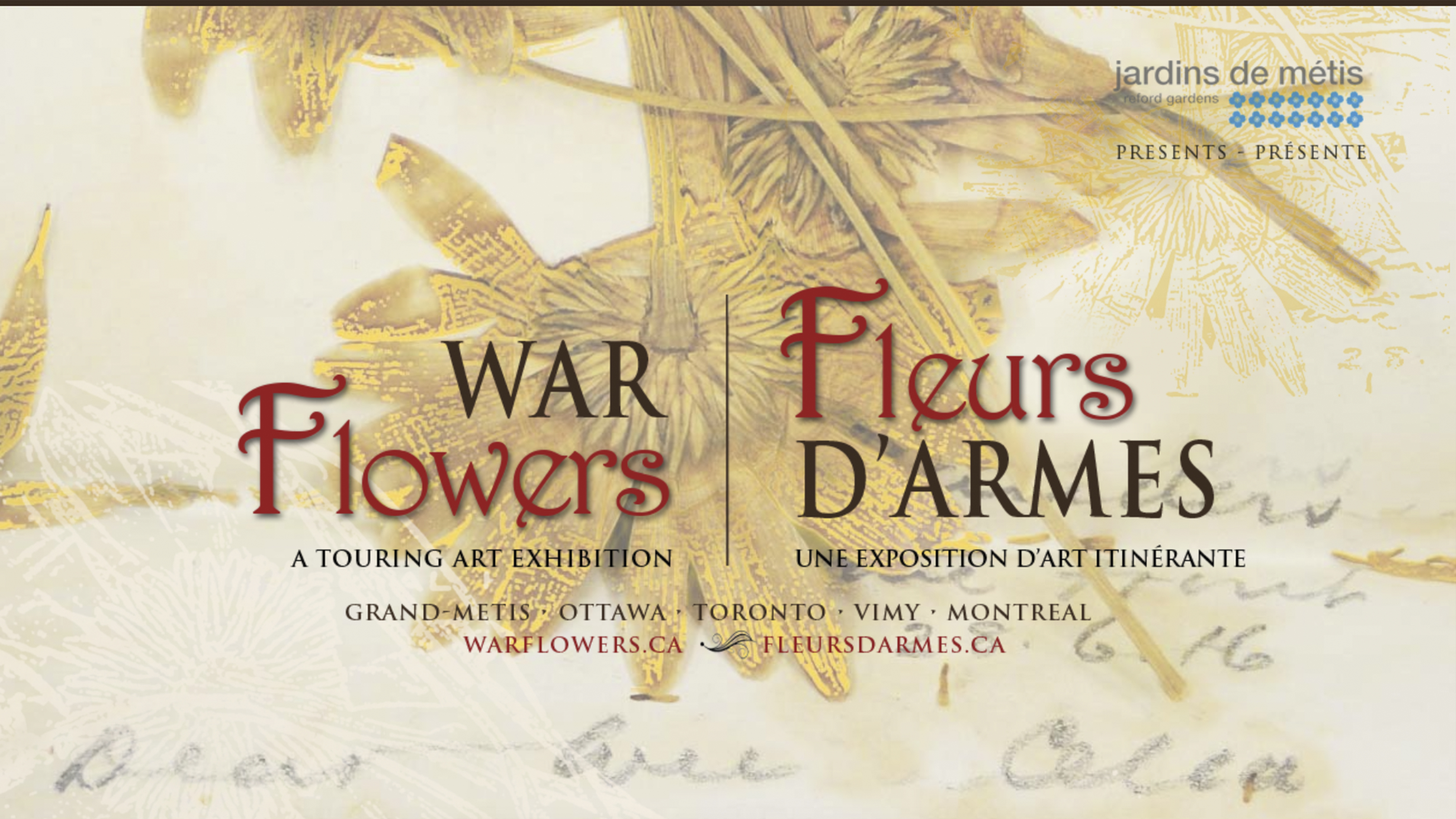 A war story told in flowers and scents