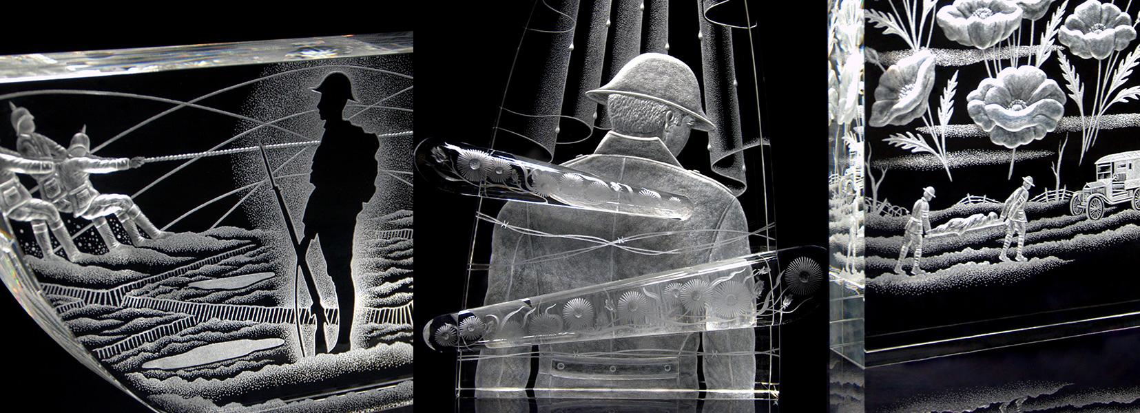 Crystal work by Mark Raynes Roberts
