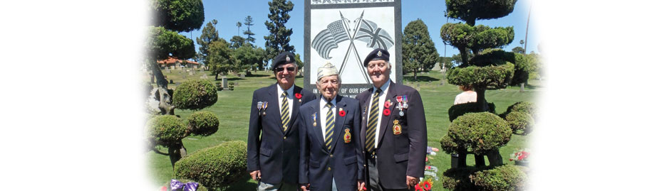 Canadian veterans' graves marked in California