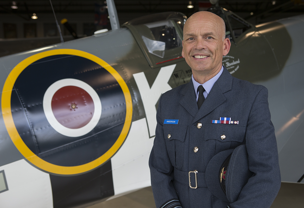 Canadian kids learn of RAF's rich history
