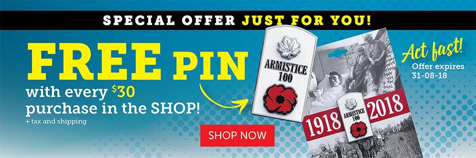Free Pin!