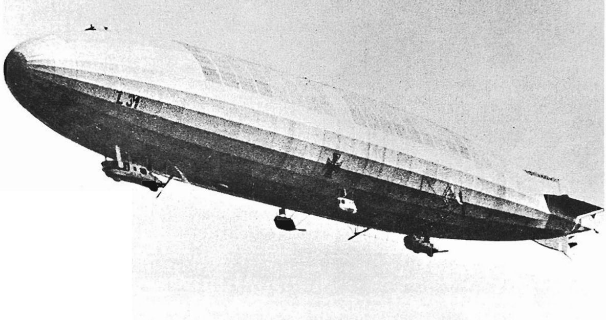 Victory over a Zeppelin