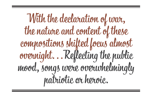 Songs from the patriotic heart | Legion Magazine