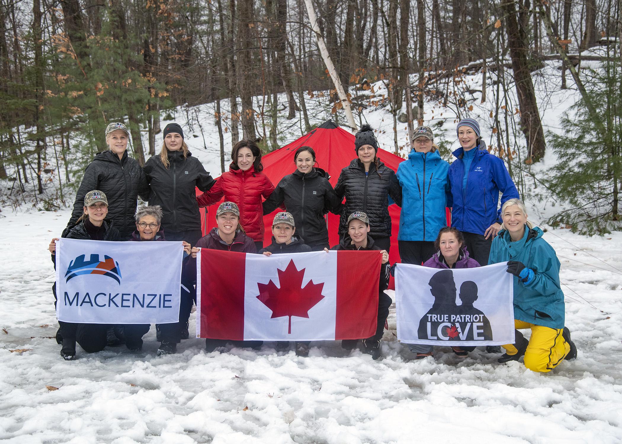 Women to support women on gruelling Arctic trek
