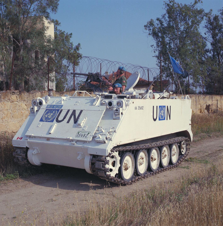 Canadian peacekeepers arrive in Cyprus