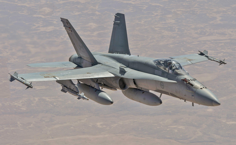 First CF-18 enters the fleet