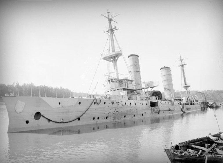 The sinking of the Königsberg | Legion Magazine