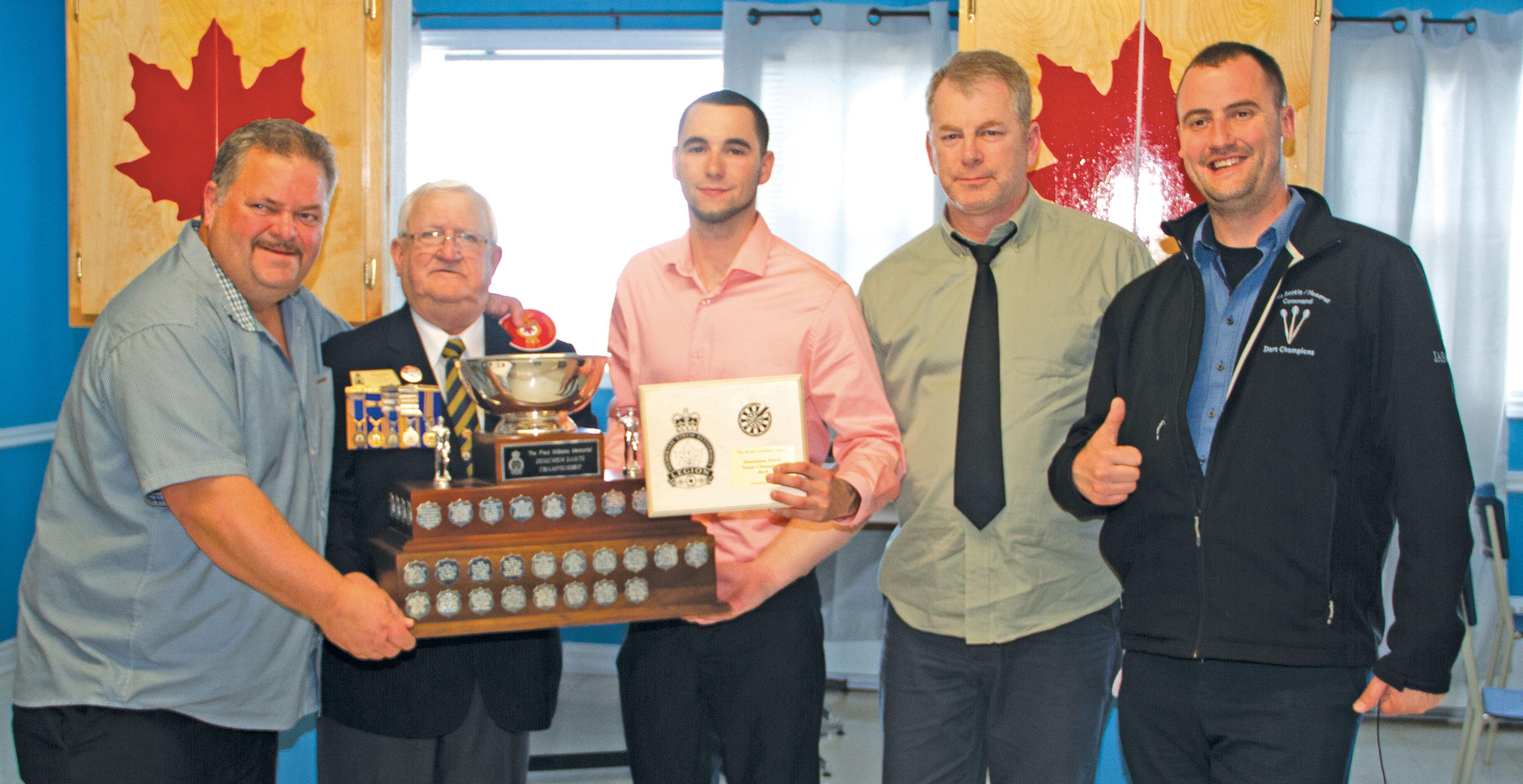 Darts trophy stays inNovaScotia