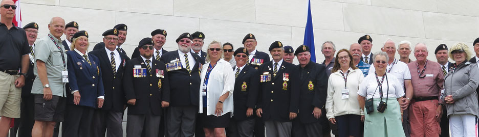 A tour to remember – The Royal Canadian Legion 2019 Pilgrimage of Remembrance