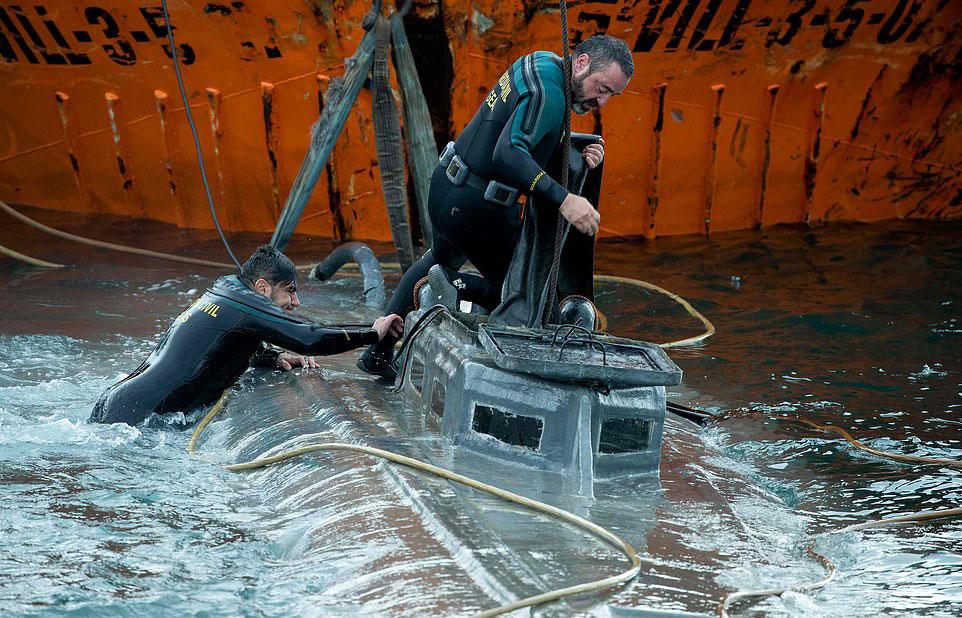 Capture of 22-metre transatlantic narco-sub marks new era in war on drugs