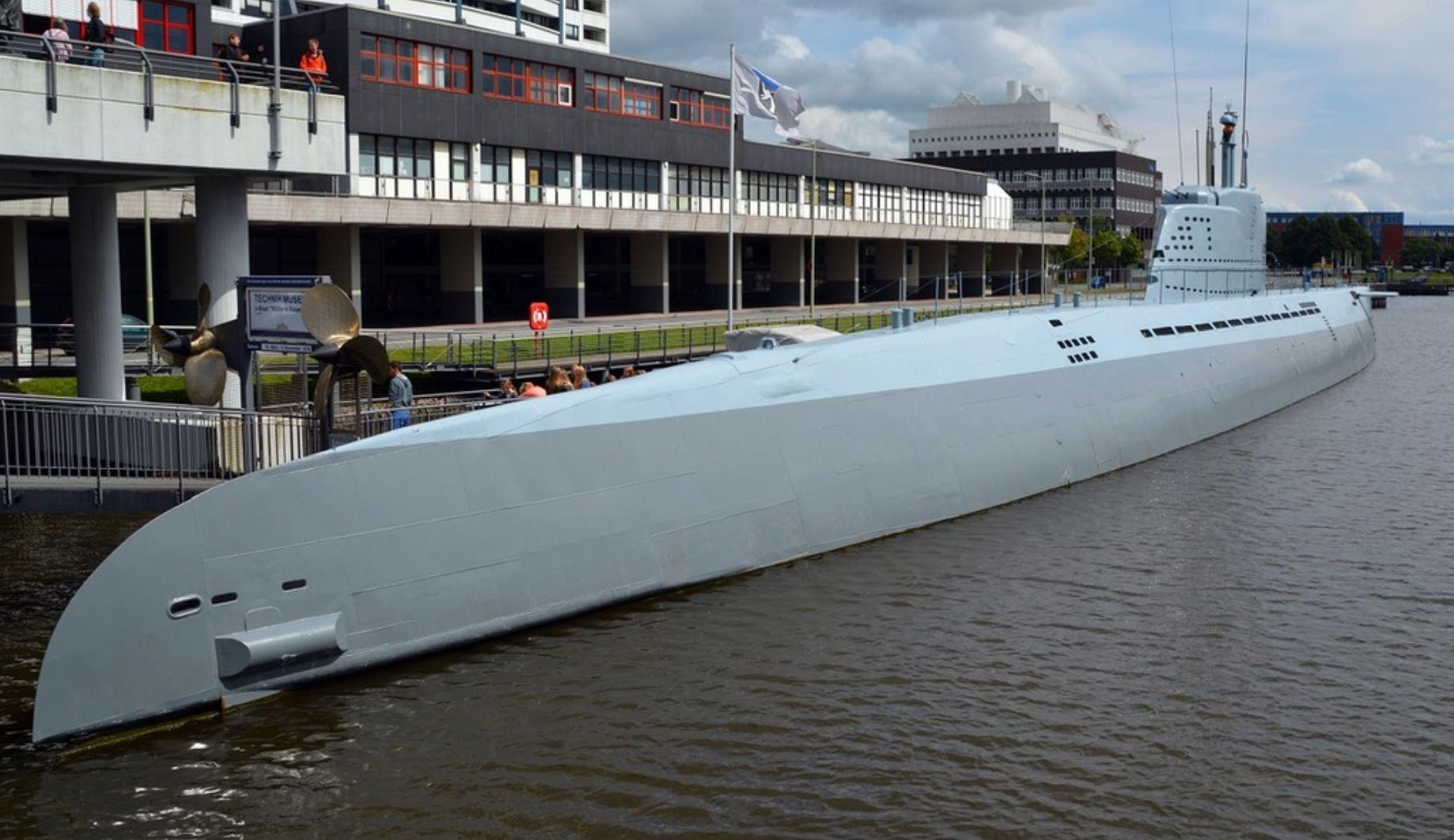 The last of the U-boats is scuttled