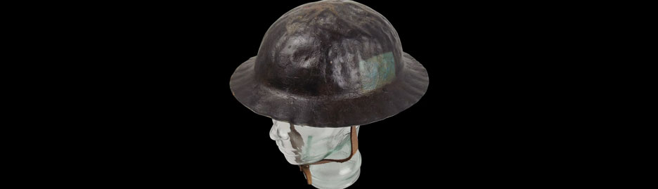Century-old army helmet still offers the best blast protection