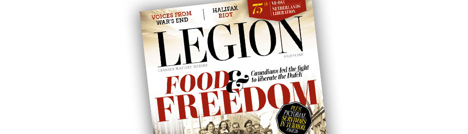 Choose our cover for the May/June issue of <em> Legion Magazine! </em>
