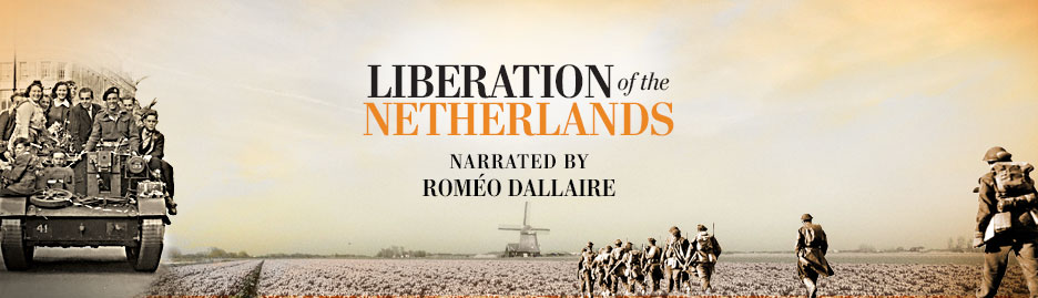 Roméo Dallaire narrates Military Moments | Liberation of the Netherlands