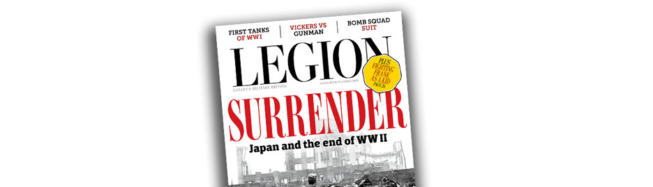 Choose our cover for the September/October issue of <em> Legion Magazine! </em>