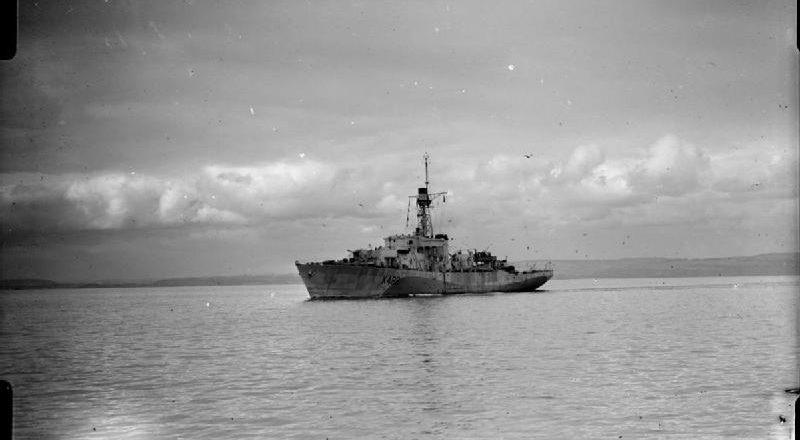 The sinking of <em>U-484</em>