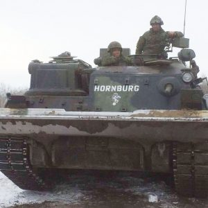 Armoured vehicle serves as a working memorial