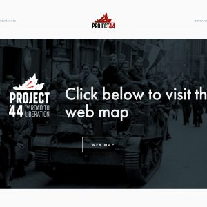 Interactive maps now telling Canada's military history