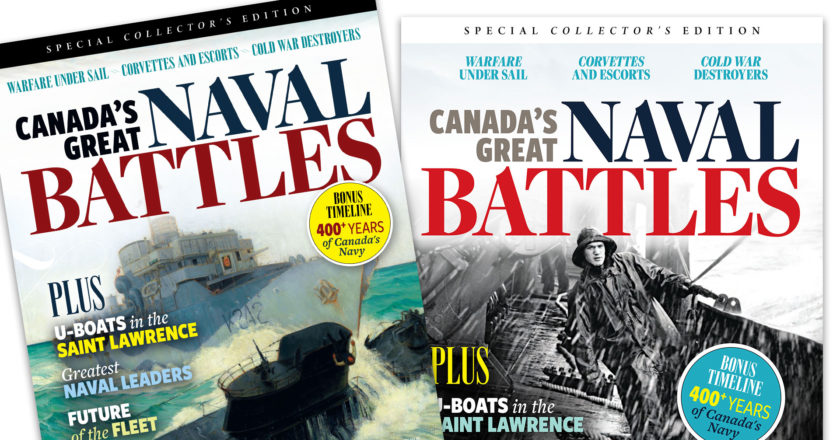 Choose the cover for the next issue of  <em>Canada's Ultimate Story!</em>