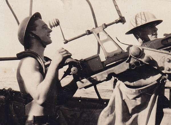 Convoy duty aboard HMCS <em>Port Arthur</em>