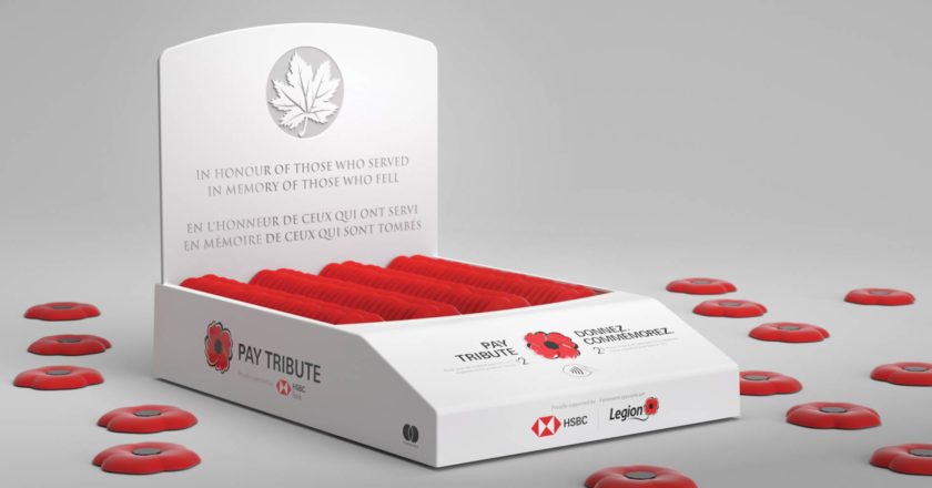 Pay Tribute boxes distribute poppies in a new age
