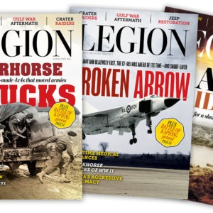 Choose our cover for the next issue of Legion Magazine!