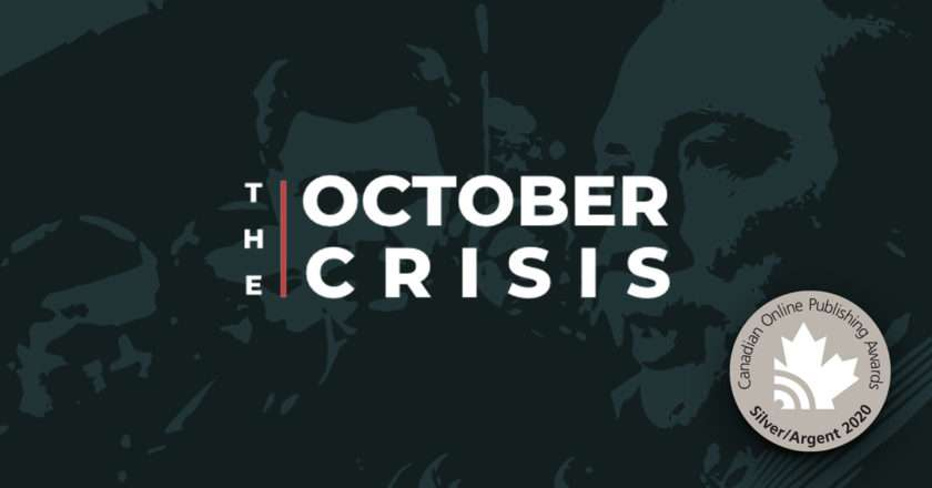 """""""The October Crisis"""" – Awarded Silver for Best Interactive Story 2020!"""