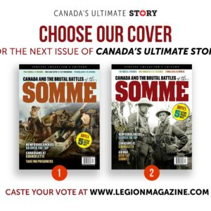 Choose our cover for the next issue of <em>Canada's Ultimate Story!</em>