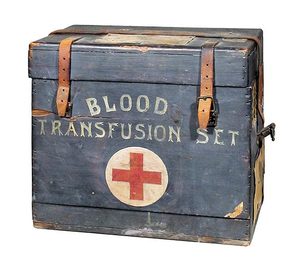 A portable blood-transfusion kit