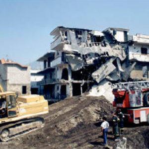 The disaster in Sarno