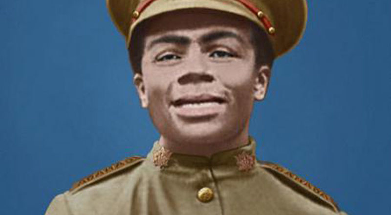 A Black soldier at the Somme