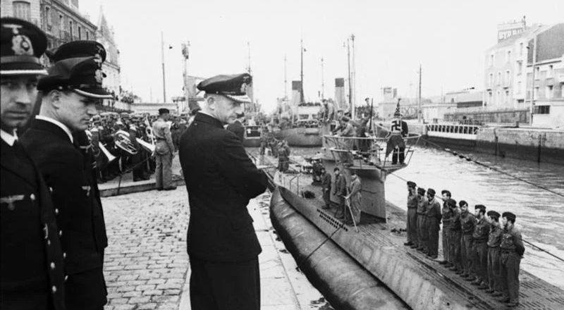 The sinking of U-94