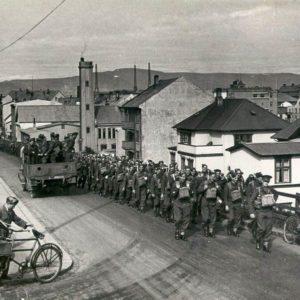 The British invasion of Iceland
