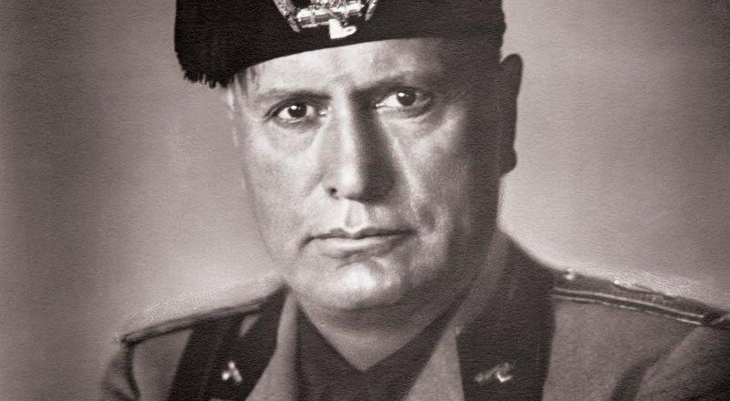 Harry Crerar & Benito Mussolini