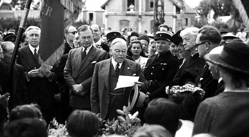 King's postwar trip