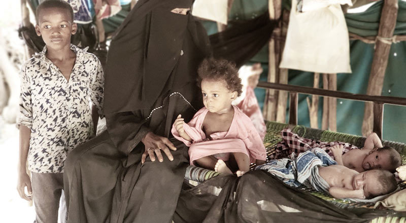 Displaced by war: Life on the edge