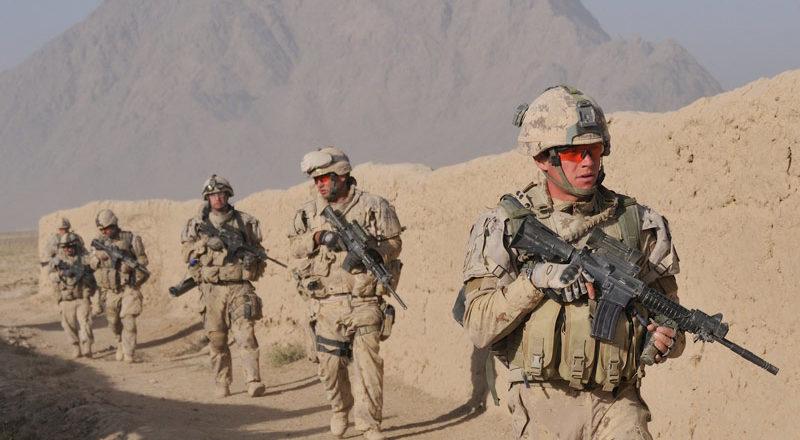 Ambush in Afghanistan