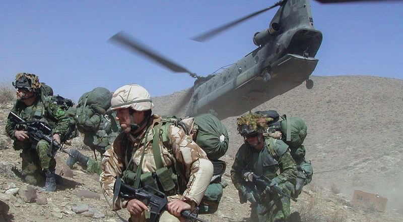 Early days: Canadian troops in Afghanistan 2002-2004