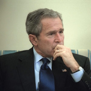 Heroes And Villains: Bush & bin Laden
