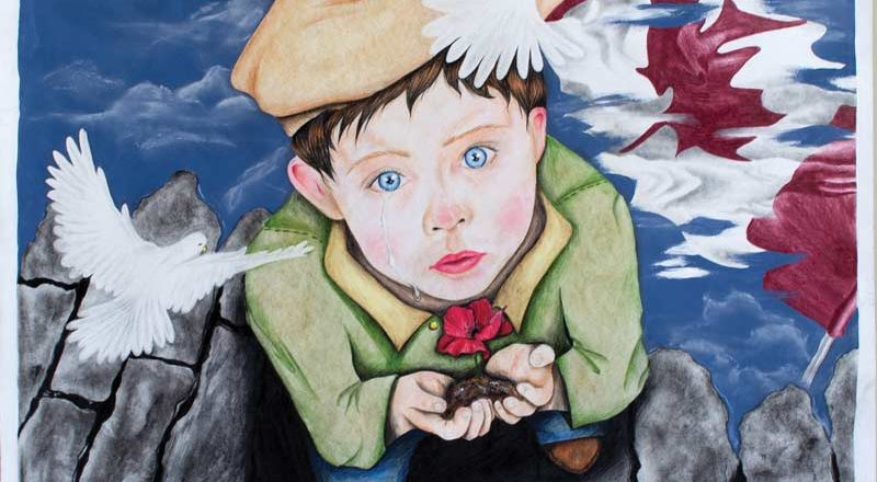 Young artists showcase the will to remember
