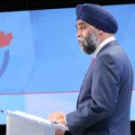Le ministre Sajjan annonce un examen indépendant surl'inconduite sexuelle