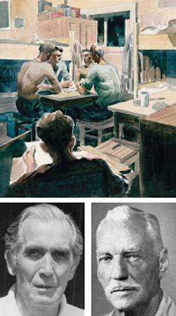 ILLUSTRATION: ROBERT MARSHALL BUCKHAM, CANADIAN WAR MUSEUM, 19850397-024